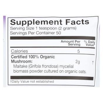Om Organic Mushroom Nutrition Maitake Dietary Supplement Powder  - 1 Each - 3.5 OZ