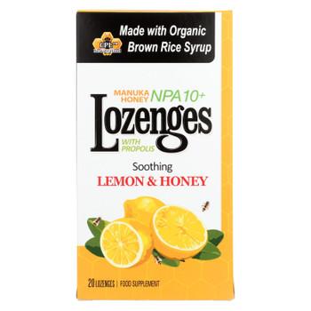 Pacific Resources International Manuka Honey Lozenges, Soothing Lemon & Honey  - 1 Each - 20 CT