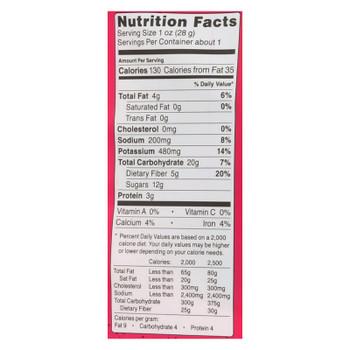 Rhythm Superfoods Sea Salt Beet Chips  - Case of 12 - 1.4 OZ