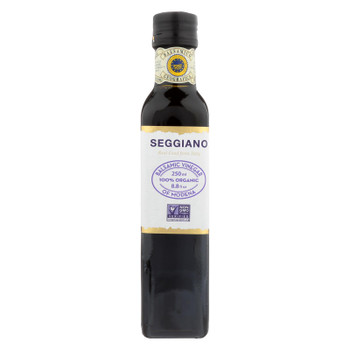 Seggiano 100% Organic Balsamic Vinegar Of Modena  - Case of 6 - 8.5 FZ