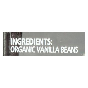 Simply Organic Spice Whole Madagascar Vanilla Beans  - 1 Each - 2 CT