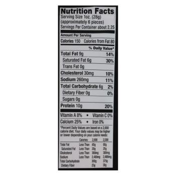 Sonoma Creamery Cheddar Crisps  - Case of 12 - 2.25 OZ