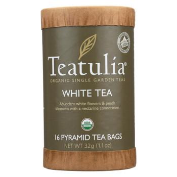Teatulia White Tea  - Case of 6 - 16 BAG