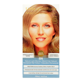 Tints Of Nature 8N Natural Light Blonde Hair Color  - 1 Each - 4.4 FZ