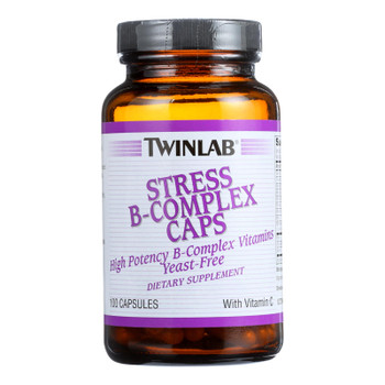 Twinlab Stress B-Complex Caps Dietary Supplement  - 1 Each - 100 CAP