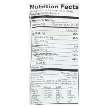 Vana Life Foods Coconut Lime Cilantro Green Chickpea Legume Bowls  - Case of 6 - 10 OZ