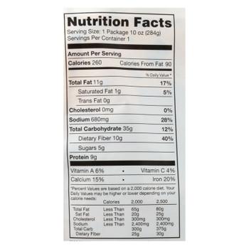 Vana Life Foods Kale Potato Tomato Rosemary Green Chickpea Legume Bowls  - Case of 6 - 10 OZ