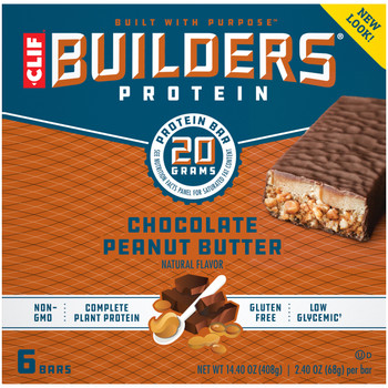 Clif Bar Builder's Protein - Case of 6 - 6/2.4 OZ