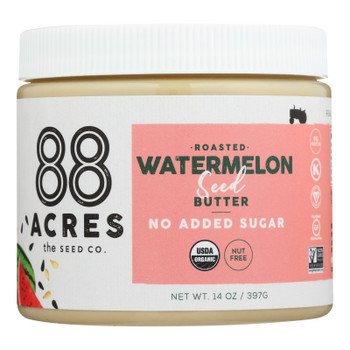 88 Acres - Butter Seed Watermelon Sugar Free - Case of 6 - 14 OZ