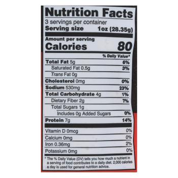 Louisville Vegan Jerky - Jerky Vegan Pepperoni - Case of 10 - 3 OZ