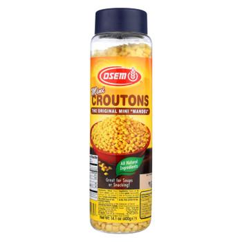 Osem Original Mini Croutons  - 1 Each - 14.1 OZ
