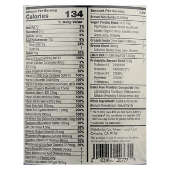 Green Foods True Vitality Plant Protein Shake In Vanilla  - 1 Each - 25.2 OZ