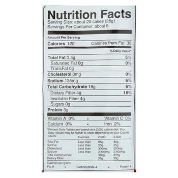 Skinnypop Mini Cheddar Popcorn Cakes  - Case of 4 - 5 OZ