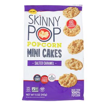 Skinnypop Popcorn Mini Cakes - Case of 4 - 5 OZ