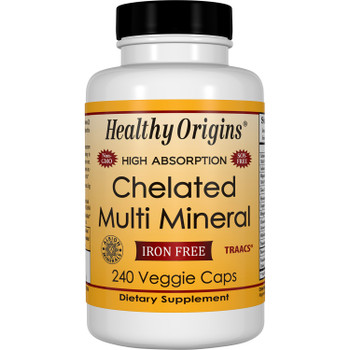 Healthy Origins - Multi Mineral Chelated - 1 Each - 240 VCAP