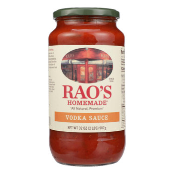 Rao's Specialty Food - Pasta Sauce Vodka - Case of 6 - 32 OZ