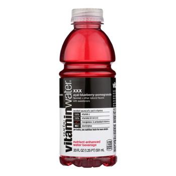Glaceau Vitamin Water Xxx, Acai-Blueberry-Pomegranate  - Case of 12 - 20 FZ