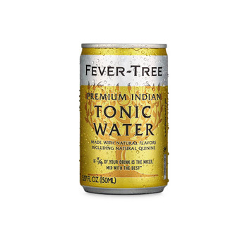 Fever-tree - Indian Tonic Cans - Case of 3-8/5.07FZ