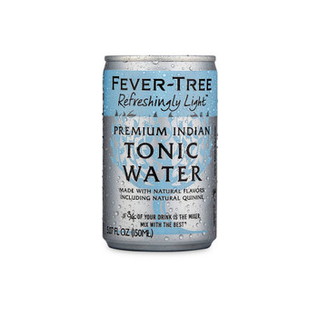 Fever-tree - Refreshngly Lt Tonic Cans - Case of 3-8/5.07FZ