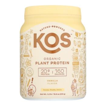 Kos - Protein Pwdr  Vanilla - 1 Each -20.6 OZ