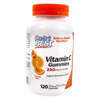 Doctor's Best - Vitamin C 500mg Gummies - 1 Each-120 CT