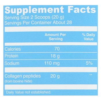 Vital Proteins Unflavored Collagen Peptides Dietary Supplement  - 1 Each - 20 OZ