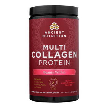 Ancient Nutrition - Multi Collagen Protein Beauty - Each of 1-9.8 OZ