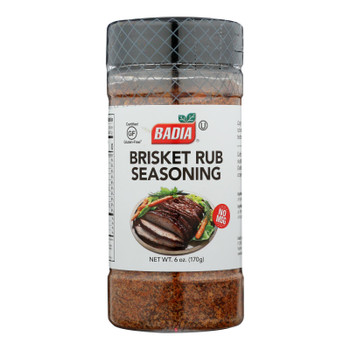 Badia Brisket Rub Seasoning  - Case of 6 - 6 OZ