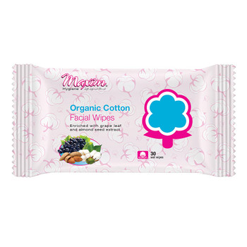 Maxim Hygiene Products - Cotton Wipes Facial - Case of 12-30 CT