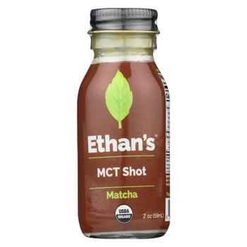 Ethan's - Mct Shot Matcha - Case of 12 - 2 OZ