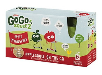 Gogo Squeez Applesauce On The Go - Case of 6 - 12/3.2OZ