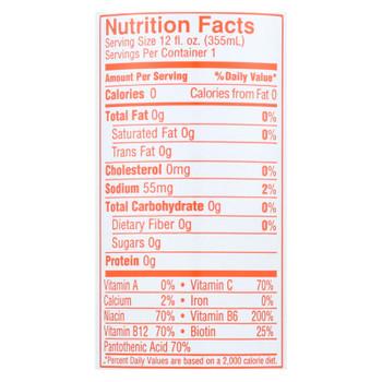 Aspire Healthy Energy - Sparkling Mango Lemonade - Case of 12 - 12 OZ