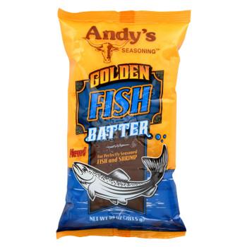 Andys - Golden Fish Batter - Case of 12 - 10 oz.