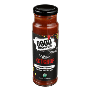 Good Food For Good - Ketchup Spicy - Case of 6-9.5 OZ