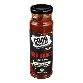 Good Food For Good - Bbq Sauce Sweet & Spicy - Case of 6-9.5 OZ