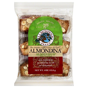 Almondina - Cookie Almonduo Almd&pistch - Case of 12 - 4 OZ