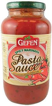 Gefen - Sauce Pasta Spicy - Case of 12-26 OZ