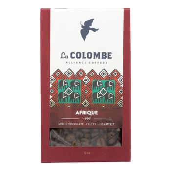 La Colombe - Coffee Whole Bean Afrique - Case of 4-12 OZ