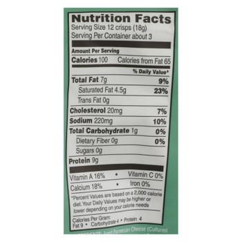 Parm Crisps - Parm Crisp Sr Cream & Onion - Case of 12 - 1.75 OZ