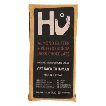 Hu - Dark Chocolate Br Albtr Quin - Case of 12-2.1 OZ