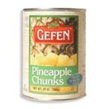 Gefen - Fruit Pinapl Kosher for Passover - Case of 24-20 OZ