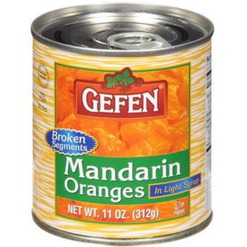 Gefen - Fruit Mand Oranges - Case of 24 - 11 OZ