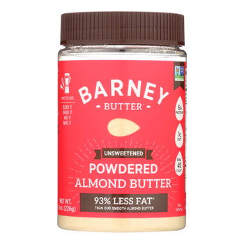 Barney Butter Powdered Almond Butter - Case of 6 - 8 OZ