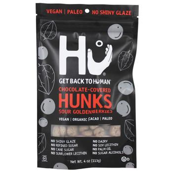 Hu - Hunks Organic Choccvd Gldnbry - Case of 6-4 OZ