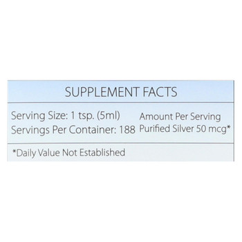 Silver Biotics - Supplmnt Dly Imun Sup Vlu - 1 Each 1-32 FZ