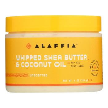 Alaffia - Whip Shea Btr/cnut Unscnt - EA of 1-4 OZ