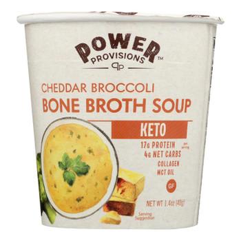 Power Provisions - Soup Bn Brth Chd Broc Ket - CS of 6-1.4 OZ