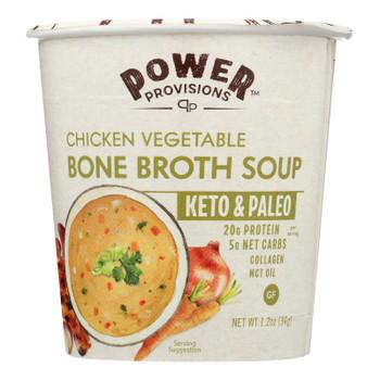 Power Provisions - Soup Cp Chck Veg Bne Brth - CS of 6-1.2 OZ