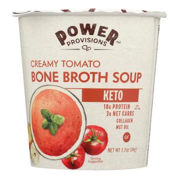 Power Provisions - Soup Bn Brth Crmy Tomato - CS of 6-1.2 OZ
