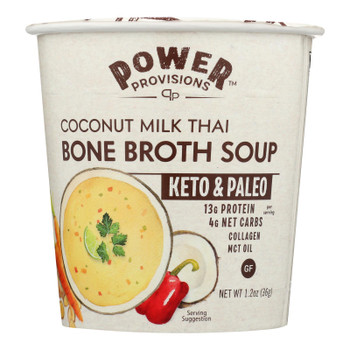 Power Provisions - Soup Bn Brth Cntmlk Thai - CS of 6-1.2 OZ